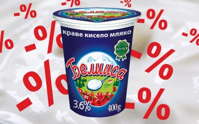 Promoting Beliisa cow's milk yogurt – 3.6%