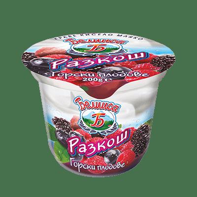 """Плодово мляко """"Белииса"""" – горски плодове"""